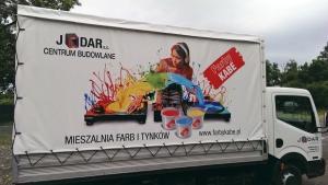 Reklama na plandekach (JODAR)