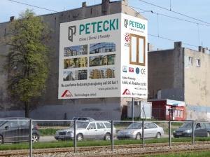 Reklama w Łodzi (Petecki)